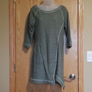 VENUS Sage Terry Cloth Dress